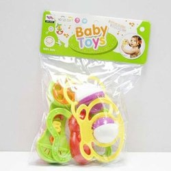 Baby Rattle Toy, Packaging Type: Packet