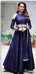 Designer Heavy Embroidered Work Gown