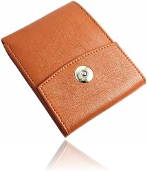 Artificial Leather Brown Color Men's Wallet