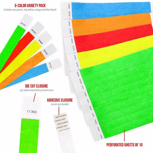 image about Printable Wristband Sheets named Get together Released Paper Wristband