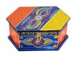 Wooden Handmade Designer Dry Fruit Box Chocolate Box Multipurpose Box Decorative Box Home Decor