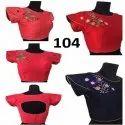Shoulder Embroidered Blouses
