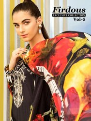 Shree Fabs Firdous Exclusive Collection Vol-5 Pakistani Style Dress Material Catalog at Textile Mall