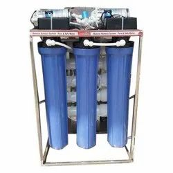 150 Liter Industrial RO Water Purifier, Reverse Osmosis, Automation Grade: Automatic