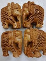 Sandalwood Under Cut Elephant