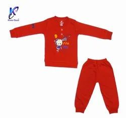Kids Full Sleeves T-Shirt With Full Pant
