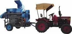 Rushi Thresher 7.5hp Model - Mini Tractor
