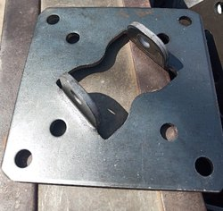 Mild Steel Cutting Material Sheet Cutting Press Parts, Material Grade: Mild Steel