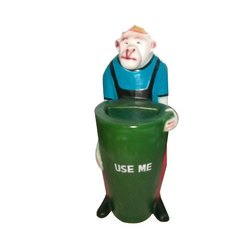 Fiber Monkey Dustbin
