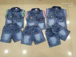 Denim Blue Kids wear, Small