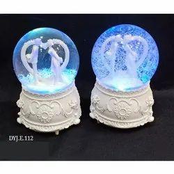 Round Glass Couple Gift, Box