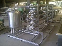 Stainless Steel Pasteurization System
