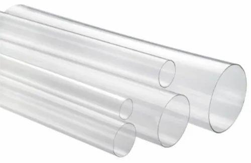 Medium Walled Round Plastic Tubes
