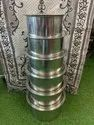 5 Pieces Stainless Steel Tope Set, For Hotel/restaurant