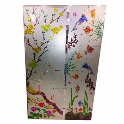 Designer Printed Partition Glass