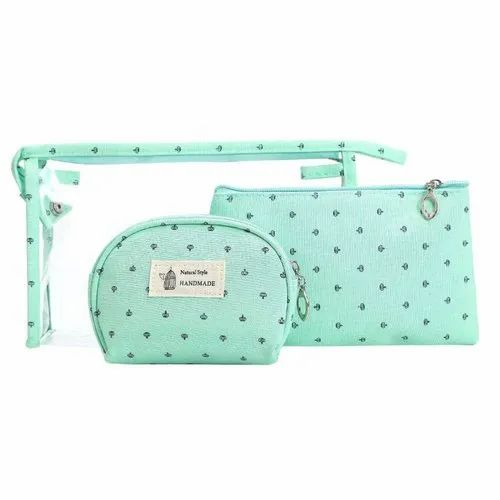 218b6c24d740 Portable Cosmetic Bags Set Of 3 Different Sizes Makeup And Toiletry Pouch  Purse Bag For Travel Or Da