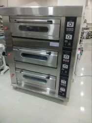 3 Deck 6tray Oven