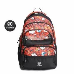 Base-M-Red School Bag