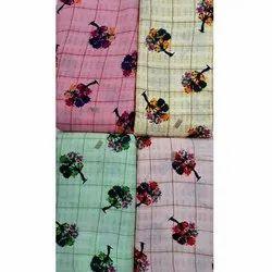 45-52 Rayon Designer Kurti Fabric, GSM: 100-150