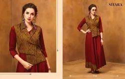 Nitara Present Arth Vol 2 Rayon Felx Evening Wear Fancy Gown Collection