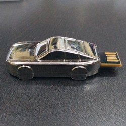 Silver Metal Car USB