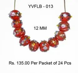 Lampwork Fancy Glass Beads - YVFLB-013