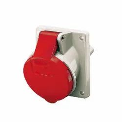 1473 CEE Panel Mounted Industrial Socket Receptacle