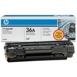 HP 36A Black Original Laser Jet Toner Cartridge
