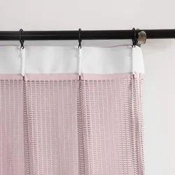 Synthetic Plain Hospital Shower Curtain