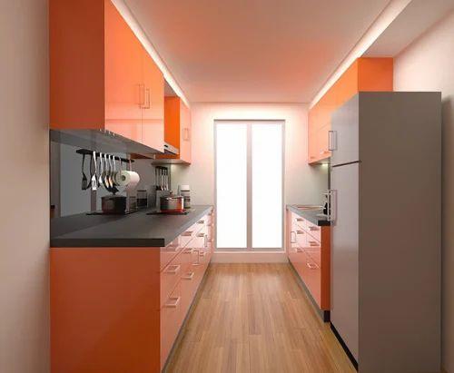 parallel kitchen design. Kitchen Furnitures  Allain Single Platform Design Service Provider From Mumbai