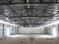 Warehouse PEB Structure Shed