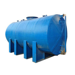 Round FRP Tank for Chemicals, Storage Capacity: 1000L