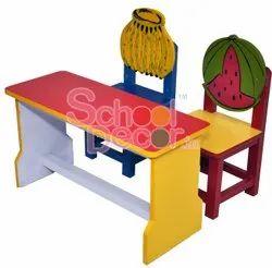 Nursery Class Room Chair Table Set.