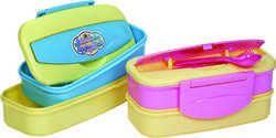 Multicolor Plastic Lunch Box