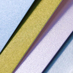 Coloured Pearl Coated Paper