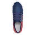 Men Blue Casual Canvas Shoes, Size: 6-10
