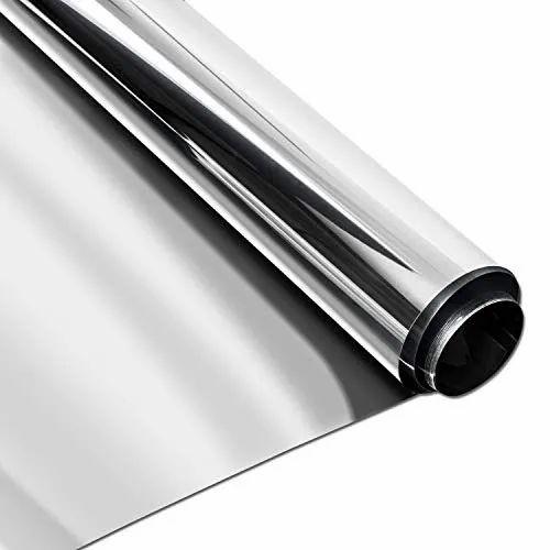 Aluminium Silver Two Way Mirror Film, For Bathroom, Rs 8 ...
