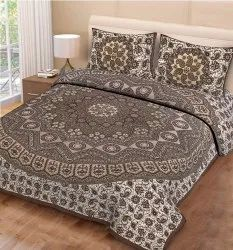 Mandala Print Bed Sheet For Double Bed