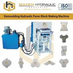 Demoulding Hydraulic Paver Block Making Machine