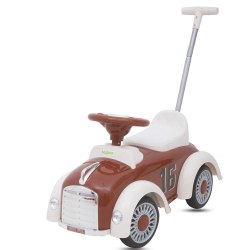 Baybee Classic Fiat Kids Ride On Push Car Toy for Babies with Music