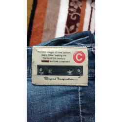 ADS Metals Rexine Jeans Labels, Packaging Type: Packet