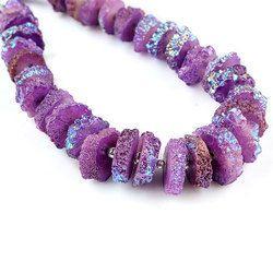 Natural Purple Crystals Solar Quartz