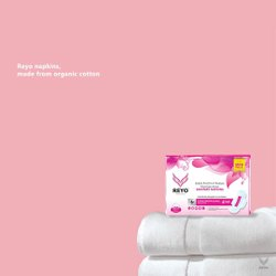 Soft Cotton Sanitary Napkin