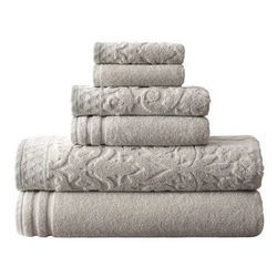 Stripped Cotton Towel Gift Set