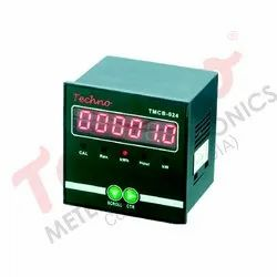 TECHNO Three dual energy meter with led display, Rs485 Port(on Request), 3*240
