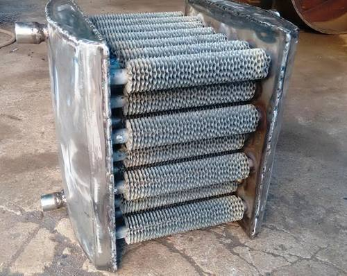 Finned Tubes Heat Exchanger Medium Used Air And Steam