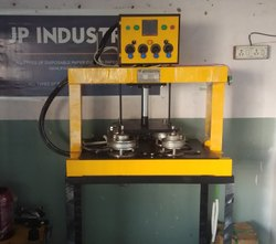 Hydraulic Double Die Plate Making Machine