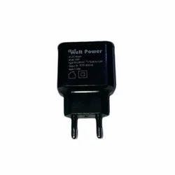 Black Mobile Adapter