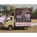 Banner Outdoor Mobile Van Advertising Service
