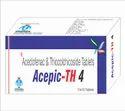 Aceclofenac 100mg Thiocolchicoside 4 Mg